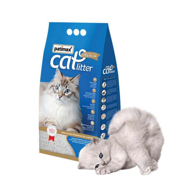 Patimax Long Lasting Premium Ultra Clumping Cat Litter 6 LT