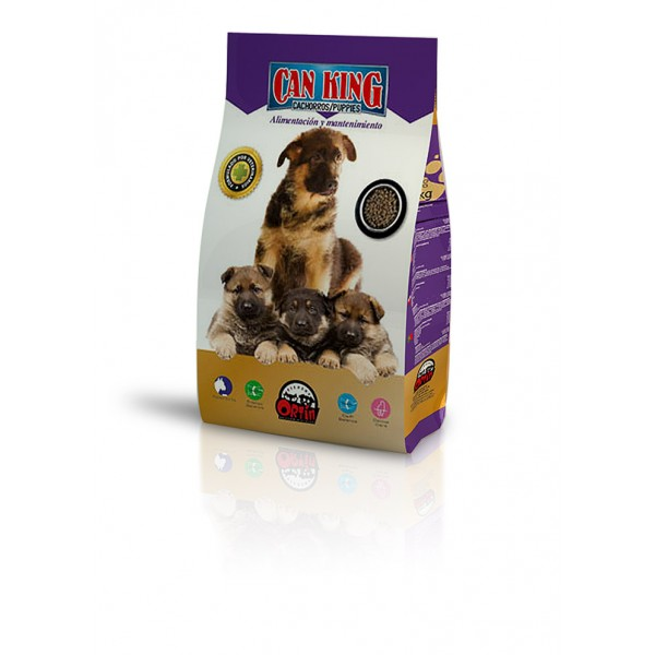 Piensos Ortin Can King Cachorros 4 кг - за подрастващи кучета